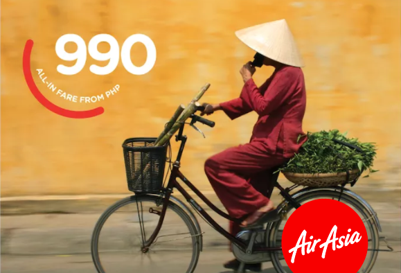 AirAsia now offers flights from Manila to Ho Chi Minh in November - Cebu Finest
